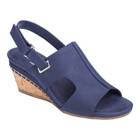 Sandale Compensée Aerosoles Shortcake Slingback (femmes) Bas Prix Rabais Acheter Prix Pas Cher mSN8r