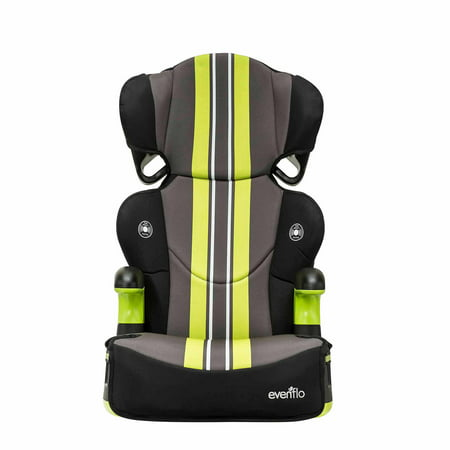 evenflo big kid sport high back booster car seat grand prix