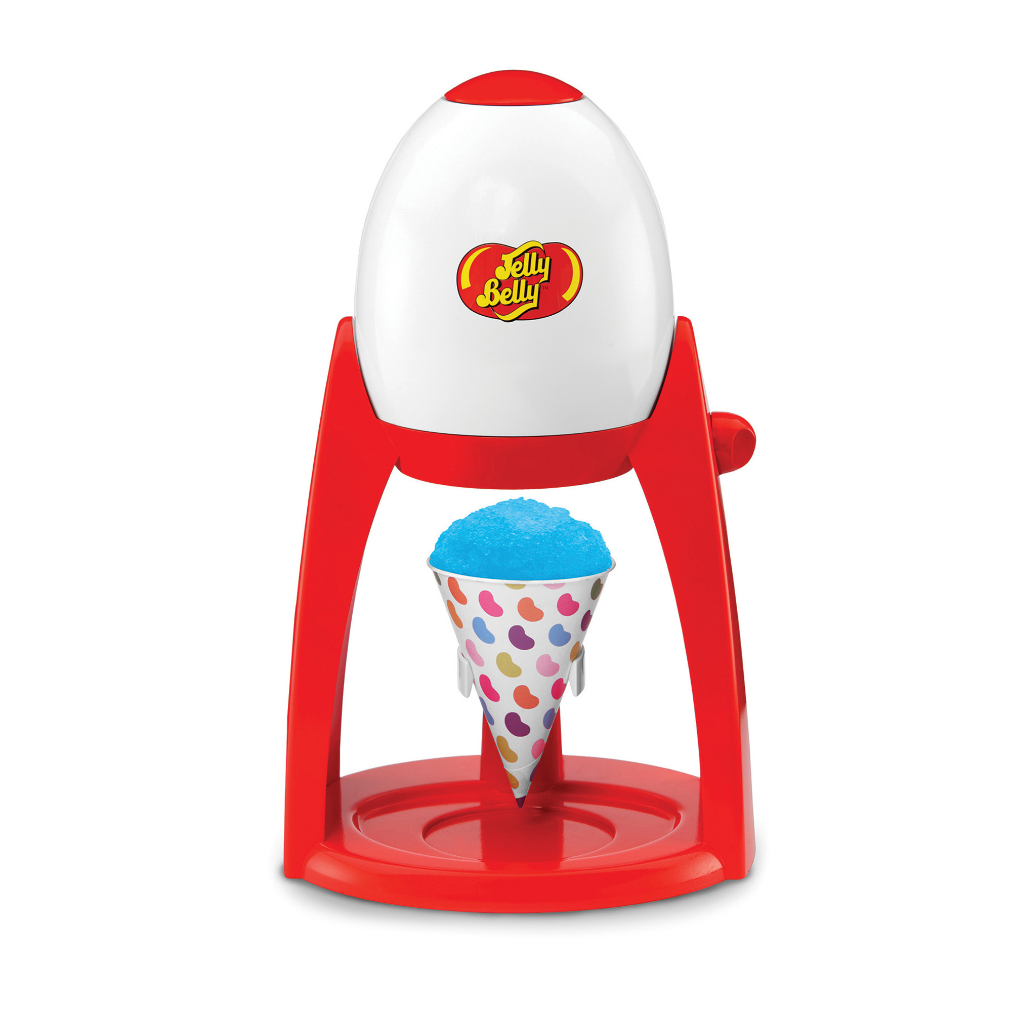Jelly Belly JB15335 Electric Flavor Snow Ice Shaver, Red