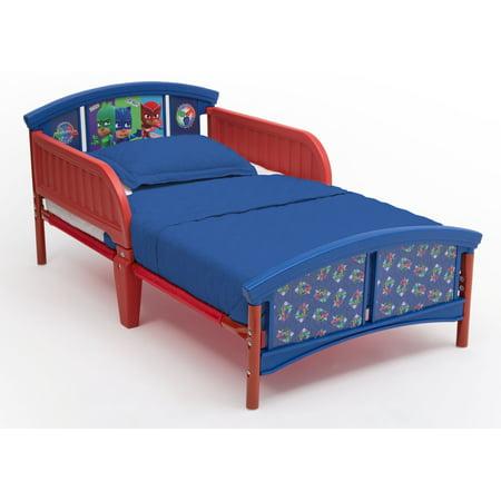 Pj Masks Plastic Toddler Bed By Delta Children