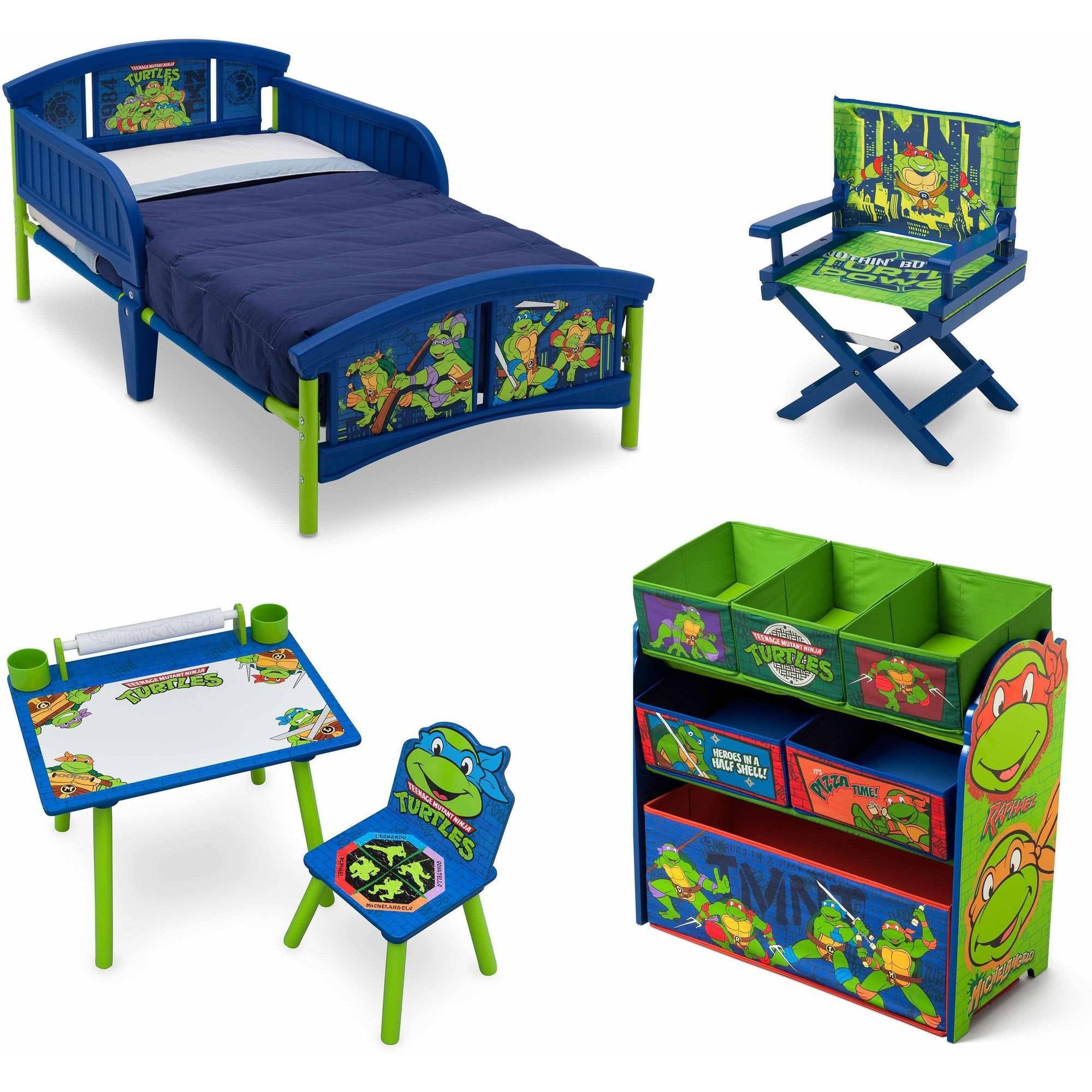 Ninja Turtle Toddler Bedding Set