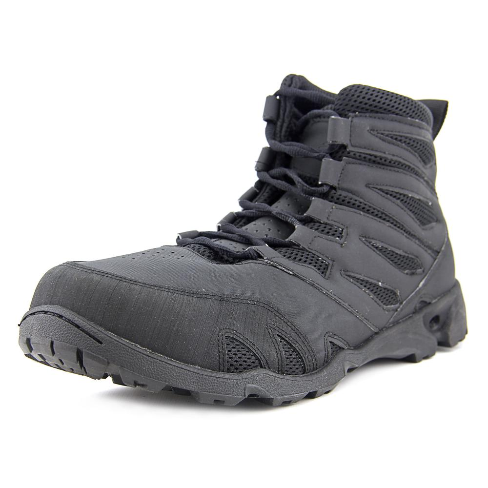 New Balance Abyss II 6 Men Round Toe Synthetic Black Work Boot by New Balance