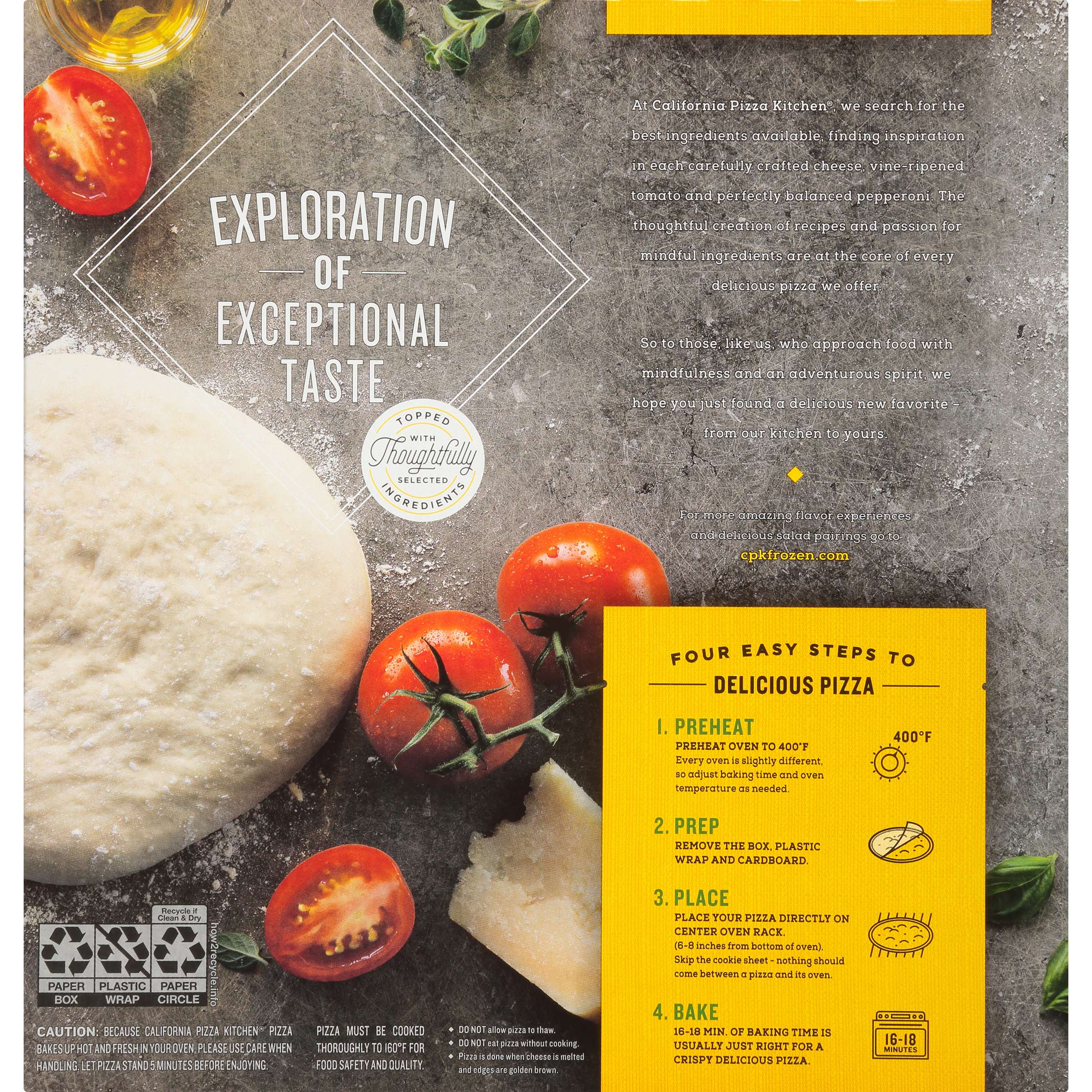 california pizza kitchen limited edition crispy thin crust