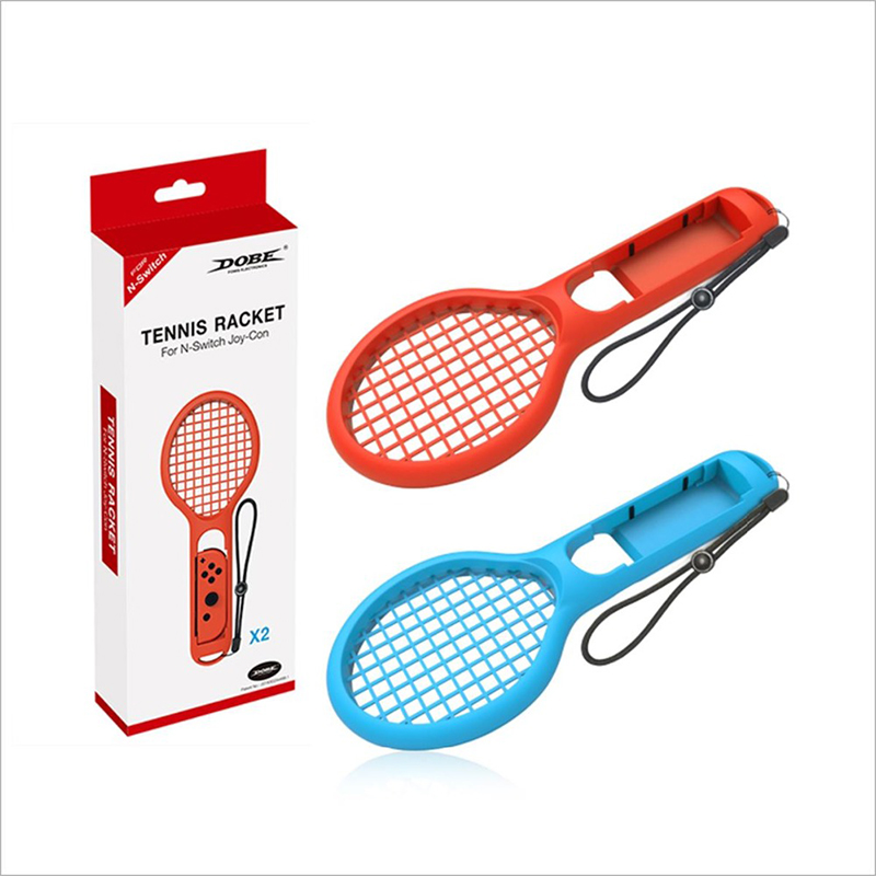 For Ma rio Tennis ACE Game Playing ABS Tennis Racket Handle Controller - image 5 of 6