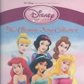Disney Princess: The Ultimate Song Collection (CD) - Disney World Halloween Songs