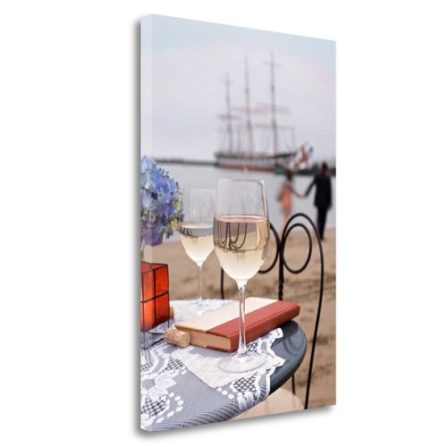 Tangletown Fine Art 'Dream Cafe Hyde St Pier - 29' Photographic Print on Wrapped Canvas