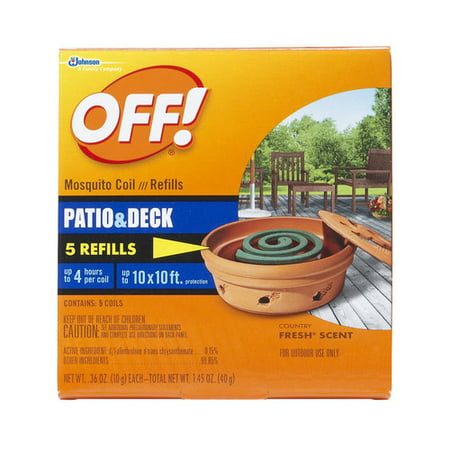 OFF! Mosquito Coil, Refills, 5ct