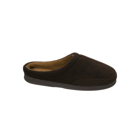 DF by Dearfoams Men's MF Terry Clog Slipper