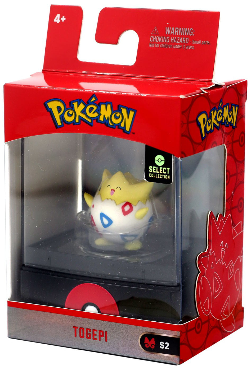 Wicked Cool Toys Ditto, Togepi Pokemon Select Collection S2 Figures SET OF 6