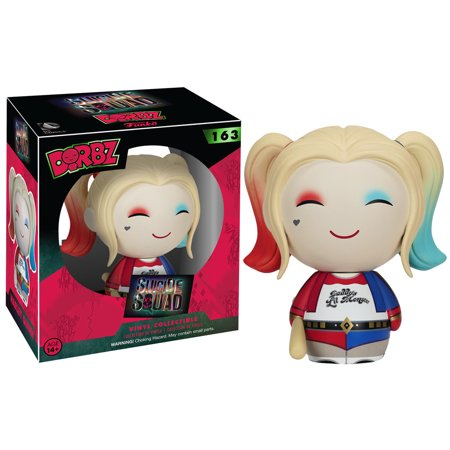 "FunKo Dorbz Suicide Squad Harley Quinn 3"" Vinyl Figure - Harley Quinn Decal"