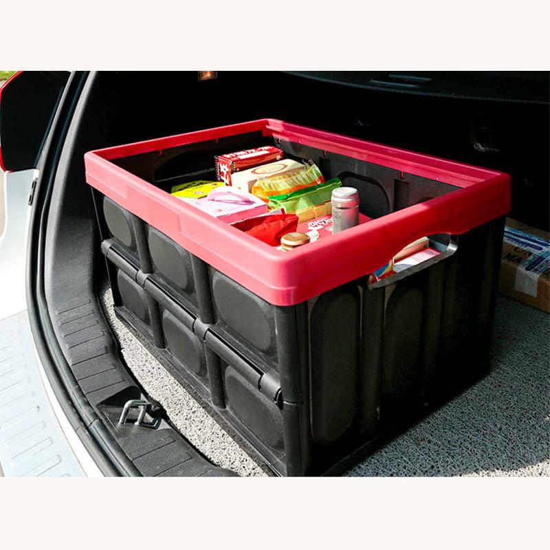 Zimtown Car Trunk Case Collapsible Plastic Storage Box