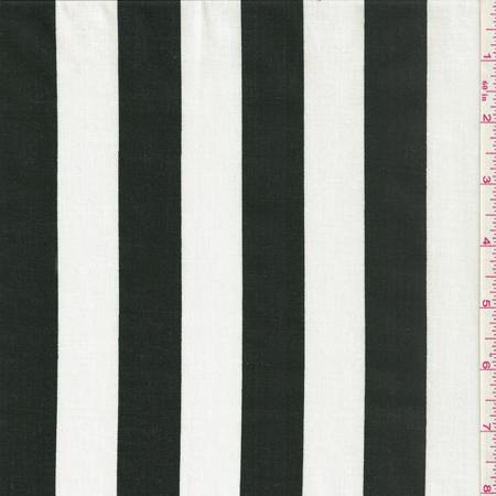 Blackwhite Stripe Fabric By The Yard Walmartcom