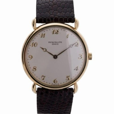 Pre-Owned Patek Philippe Calatrava 3820 Gold  Watch (Certified Authentic &
