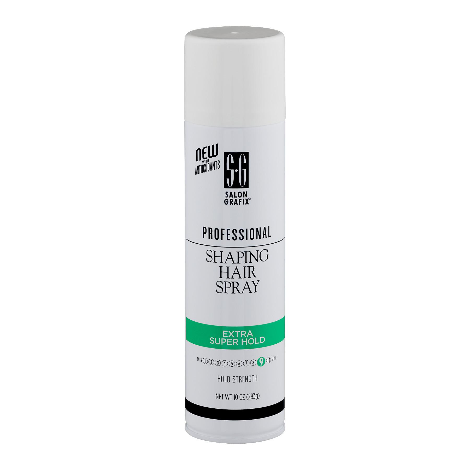 Salon Grafix Professional Shaping Hair Spray Extra Super