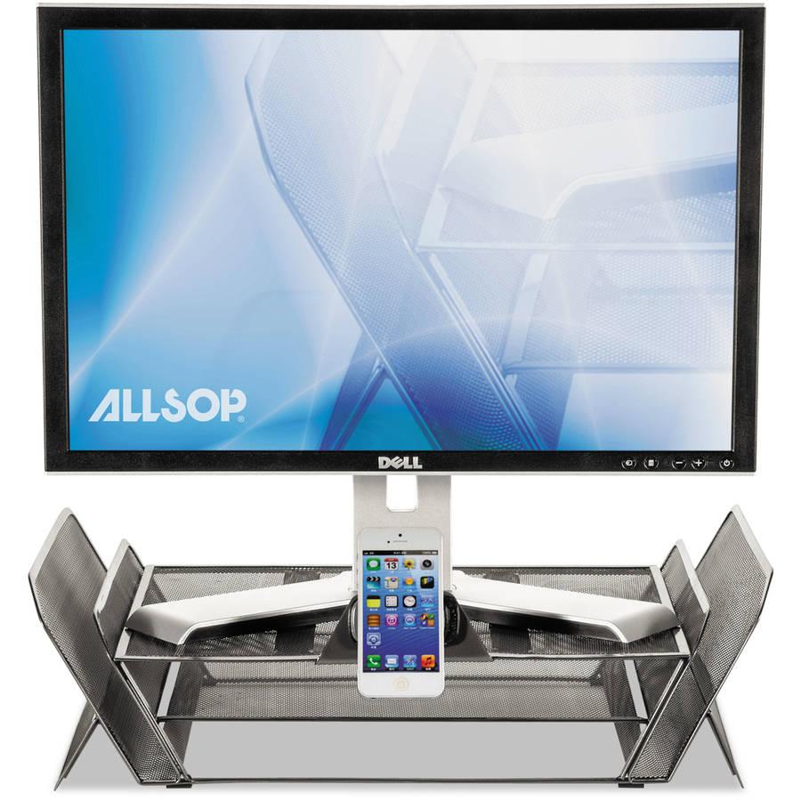 Allsop DeskTek Monitor Stand, Gray