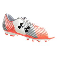 10bdcb7945b9 Product Image UNDER ARMOUR MEN'S CF FORCE FG SOCCER CLEATS WHITE GRAPHITE  FLASH PINK 13