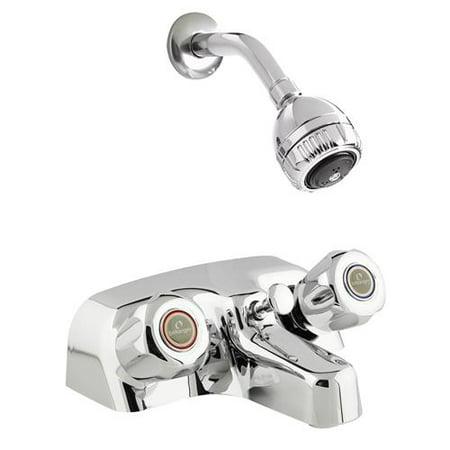 Belanger 3068 Bathtub Shower Faucet Polished Chrome Finish 2