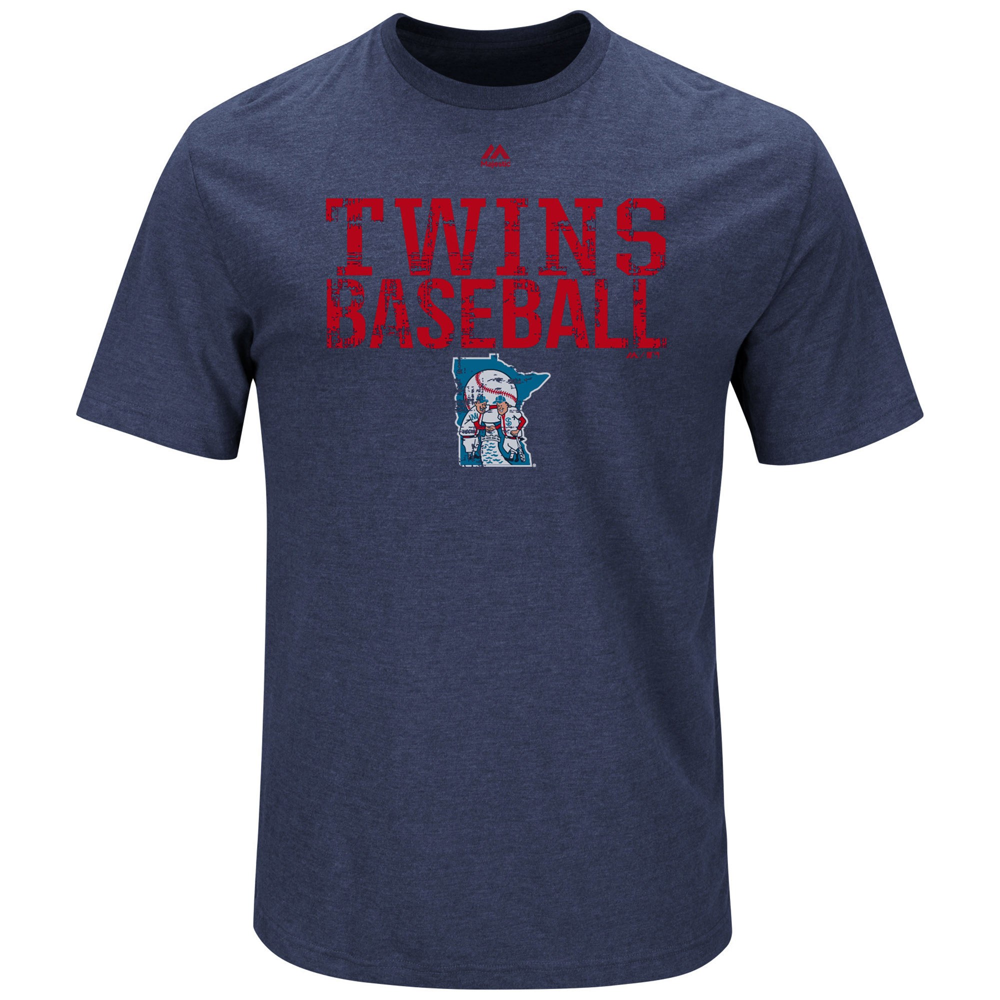 Minnesota Twins Majestic Cooperstown Collection One Winner T-Shirt - Navy