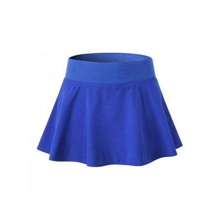Ropalia Women Ruffle Skirt Sport Quick Dry Skirt Workout Short Skirt Active Tennis Running Skirt With Safety - Skirted Definition