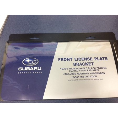 GENUINE OEM Front License Plate Bracket 2008-2018 Impreza Legacy Forester Outback Sti Wrx Crosstrek, Genuine Subaru Front Licence Plate.., By (2008 Subaru Forester Xt Manual For Sale)