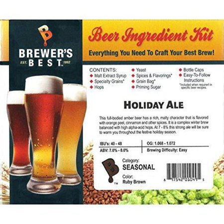 Brewer's Best 1013 Brewers Best American Pale Ale Home Brewing Ingredient (Best American Pale Ale)