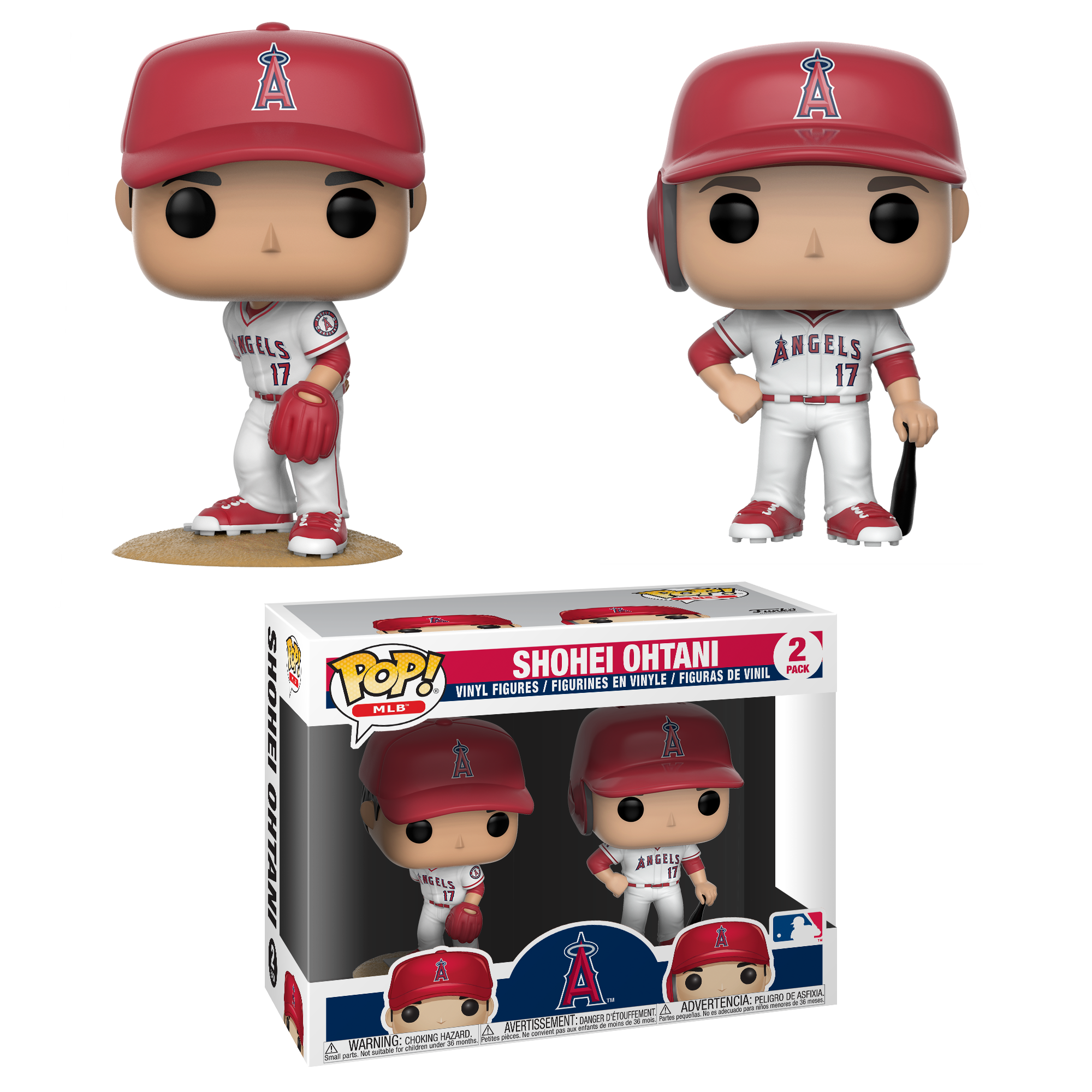 Funko POP MLB: Angels - Shohei Ohtani 2 PK