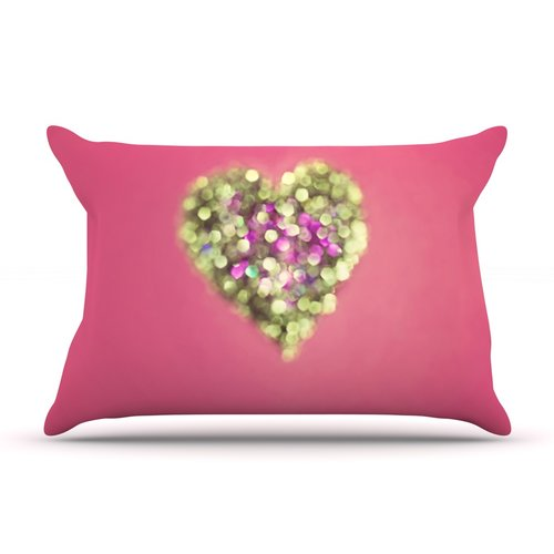 East Urban Home Beth Engel 'Make Your Love Sparkle' Pillow Case