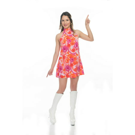 Halloween California Dreamin Disco Dress