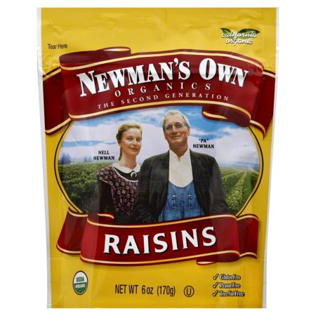 Newmans Own Organics Raisins (Newmans Own Organics Newmans Own Organics  Raisins, 6 oz )