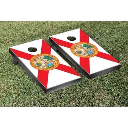 Florida Flag Cornhole Bean Bag Toss Game