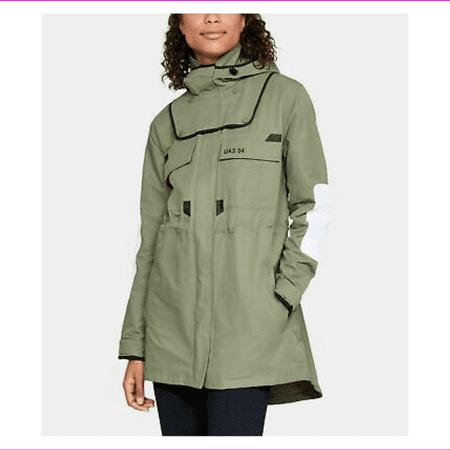 UA Under Armour UAS Oversized Women's Jackets MSRP $400 Green XS