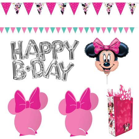 Minnie Mouse Helpers Room Decorating Kit](Minnie Mouse Table Cloths)