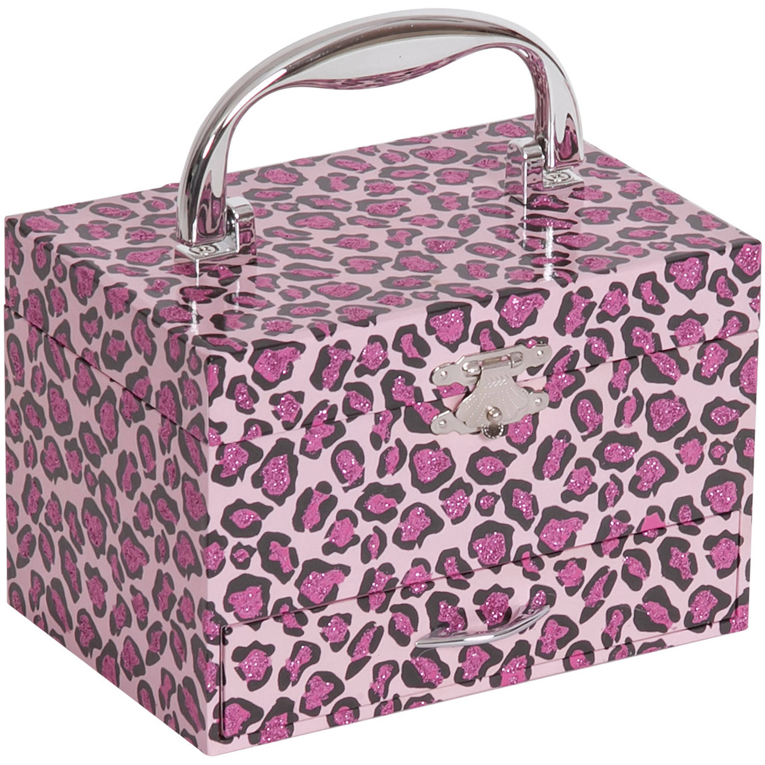 Mele Designs Josie Girl's Musical Ballerina Jewelry Box with Leopard Design