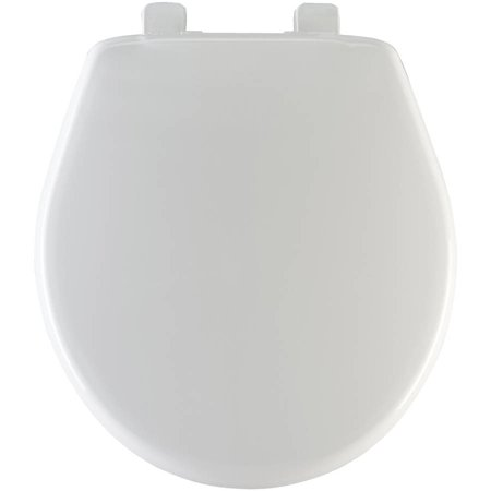 Mayfair Round Toilet Seat with Sta-Tite System and Whisper - Pull Chain Round Toilet