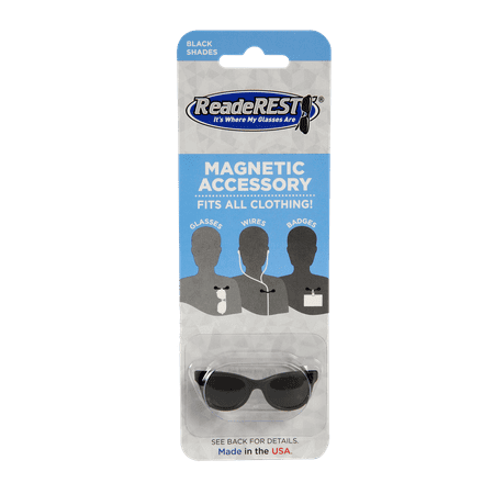 Black Shades Magnetic Eyeglass Holder, Sunglasses Holder | ReadeREST