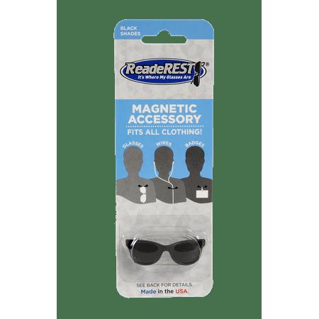 Black Shades Magnetic Eyeglass Holder, Sunglasses Holder | ReadeREST