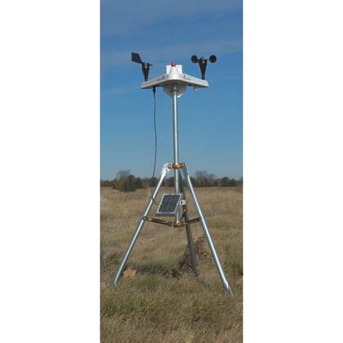 Weather Station w Anemometer, Weatherhawk, 916 by WEATHERHAWK