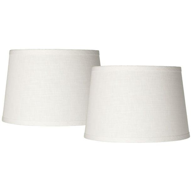 Bwood White Drum Lamp Shades Set Of, White Drum Lamp Shade