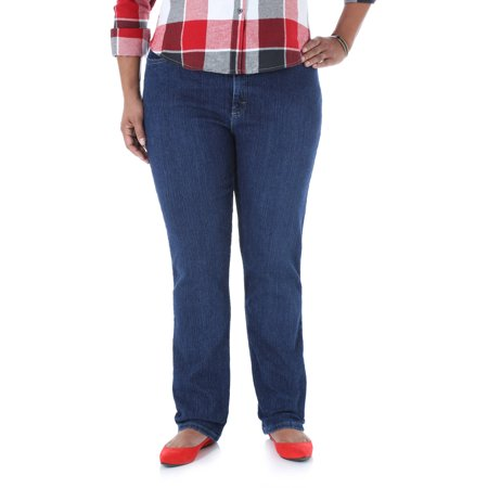 Riders by Lee Women's Plus-Size Classic Fit Straight Leg Jeans