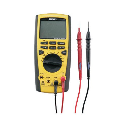 Sperry Instruments 66 Series Digital Multimeters Trms Digital Multimeter Autorange: 623-Dm6650T - trms digital multimeter autorange
