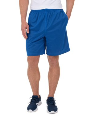 Athletic Works Men's Active Performance Grid Mesh Short, up to 3XL