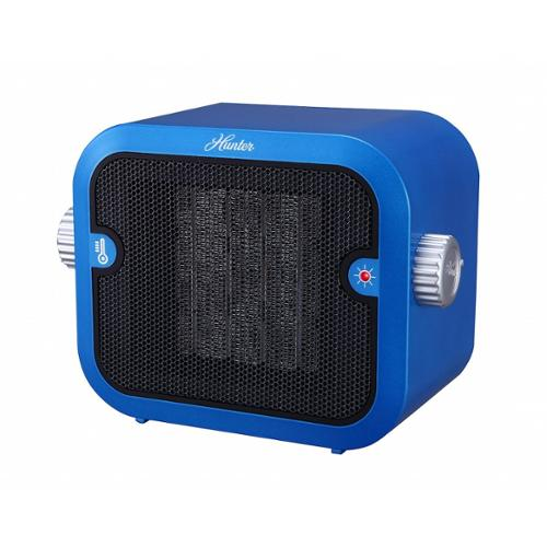 Hunter Pc-003bu Retro Ceramic Space Heater [blue]