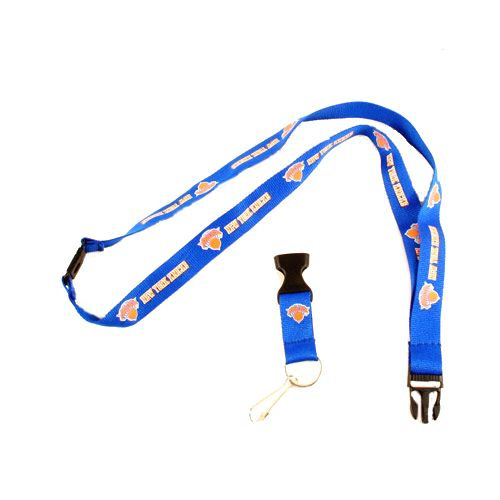 NBA New York Knicks Team Color Breakaway Lanyard Key Chain
