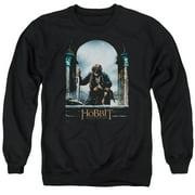 Hobbit Bilbo Poster Mens Crewneck Sweatshirt
