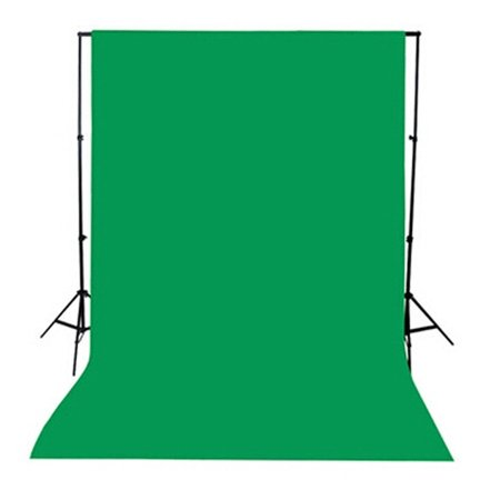 5x10ft Green Screen Photography Studio Non-woven Background Backdrop Video Props