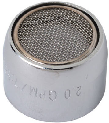 "Faucet Aerator, F, Chrome-plated Brass, 13/16"" X 27-thread, Brass Craft, SF0048X"