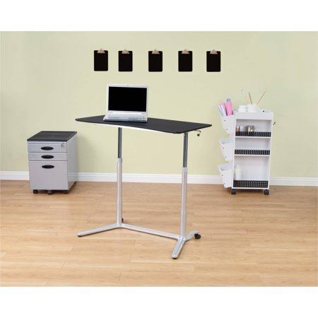 Calico Designs Sierra Adjule Height Desk With 2 Locking Casters