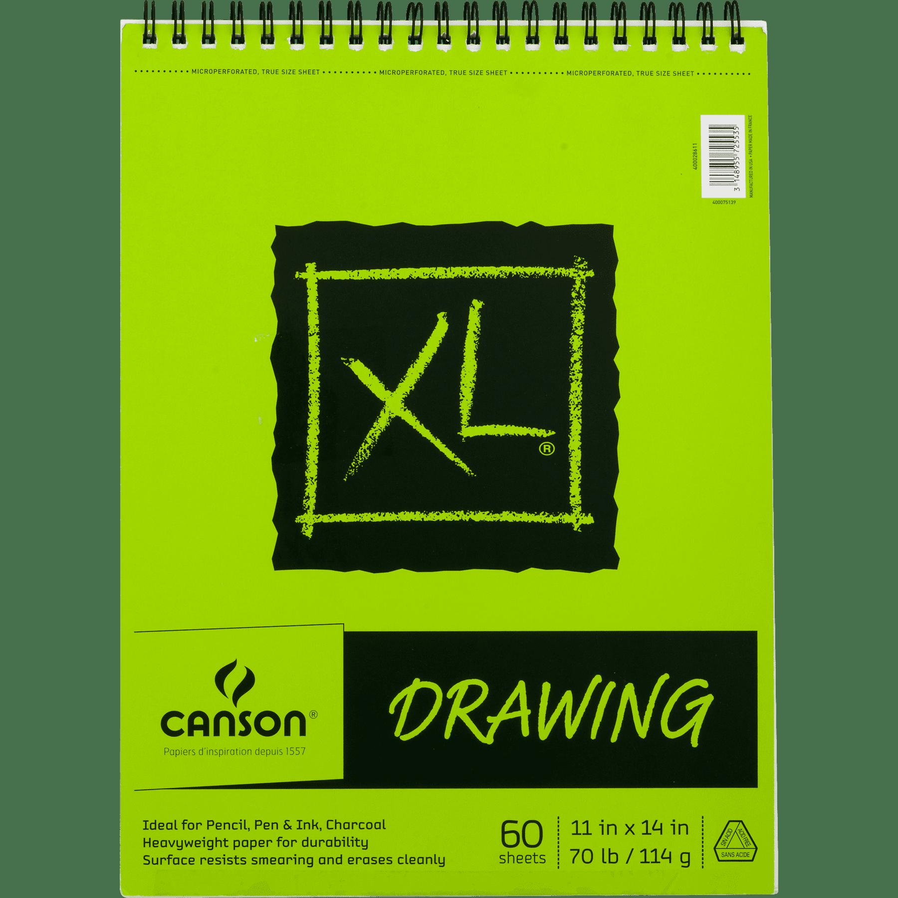 Canson Xl Recycled Paper Sketchpad 11 X 14 Spiral Bound Art Paper 60 Sheet Walmart Com Walmart Com
