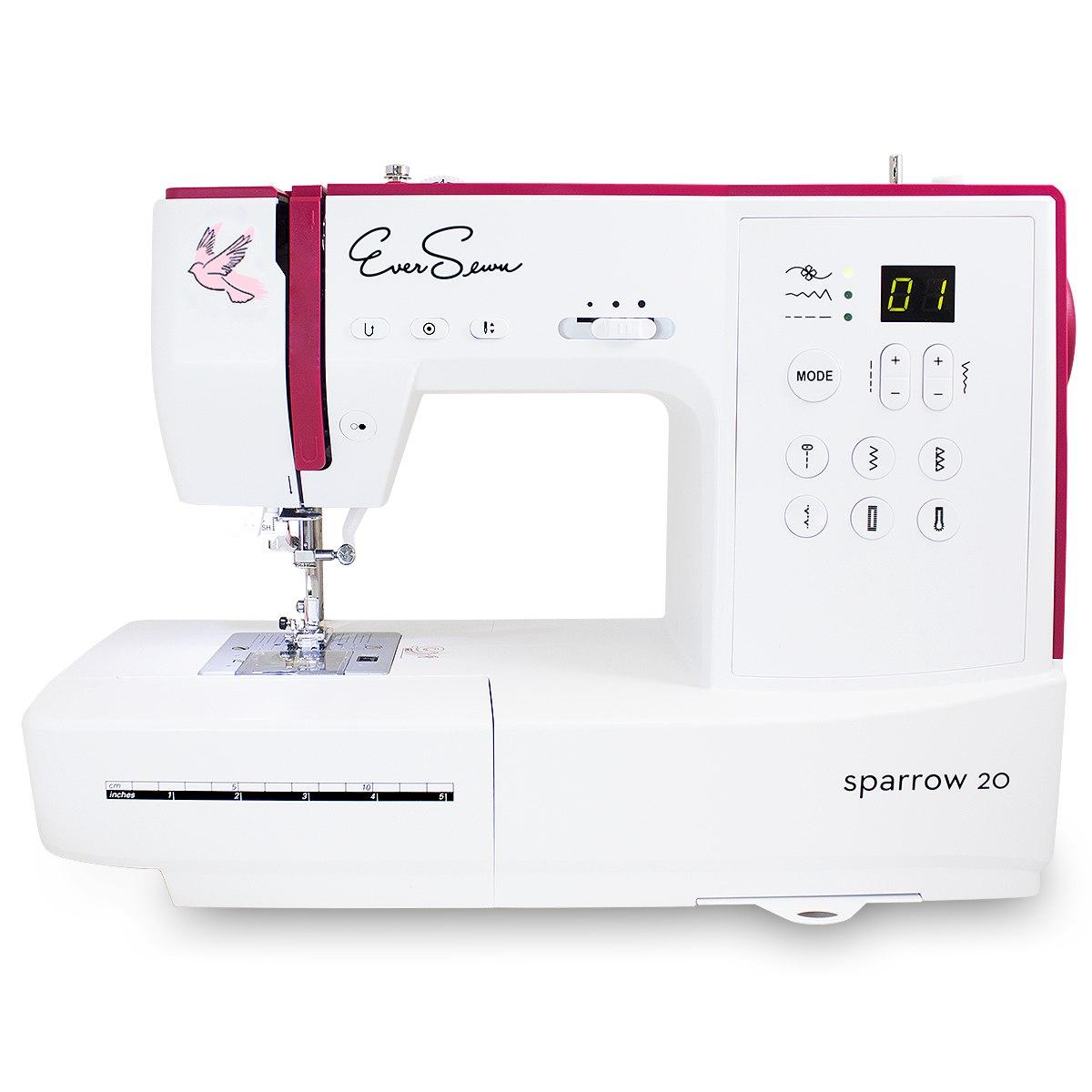 EverSewn Sparrow 20 – 80 Stitch Computerized Sewing Machine