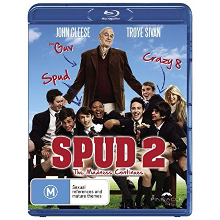 Spud 2: The Madness Continues (2013) ( Spud Two: The Madness Continues ) [ NON-USA FORMAT, Blu-Ray, Reg.B Import - Australia